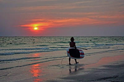Photograph - Fun At The Beach by HH Photography of Florida