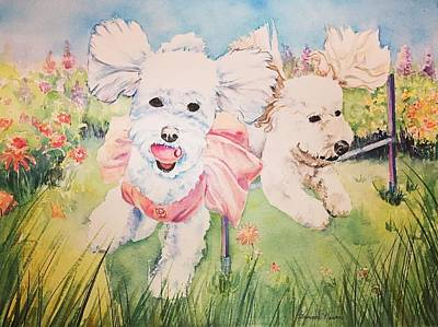 Painting -  Fun in the Sun by Susanne Nason