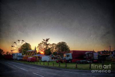 Digital Art - Funfair on the Heath by Nigel Bangert