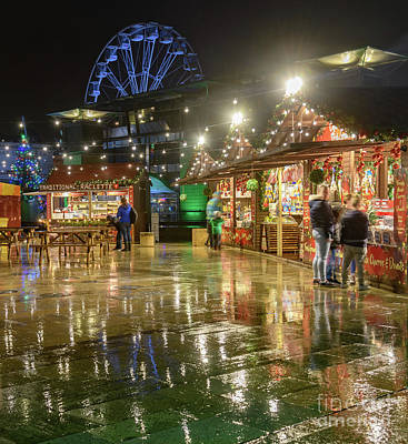 Photograph - Funfair Reflections by Colin Rayner