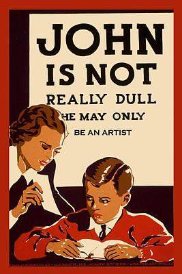 Painting - Funny Artist Humor by Tony Rubino