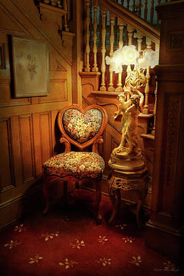 Photograph - Furniture - Chair - Waiting For Love by Mike Savad
