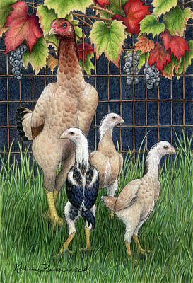 Gamefowl Art | Fine Art America
