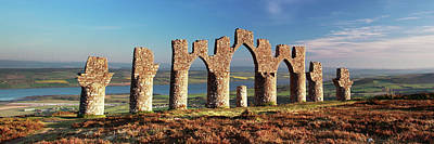Photograph - Fyrish Monument - Alness by Grant Glendinning