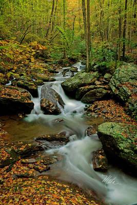 Photograph - Ga Mtn Stream by Meta Gatschenberger