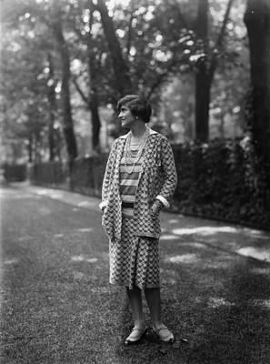 Photograph - Gabrielle Chanel by Sasha