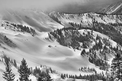 Photograph - Gad 2 Summit In The Distance Black And White by Adam Jewell