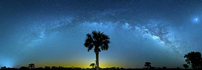 Photograph - Galactic Ocean by Mark Andrew Thomas