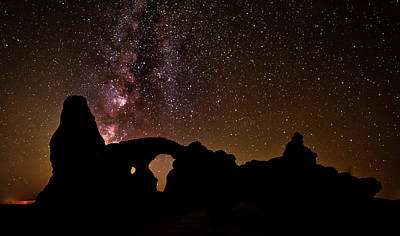 Photograph - Galactic Turret Arch by Andy Crawford