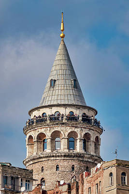 Photograph - Galata Tower by Fabrizio Troiani