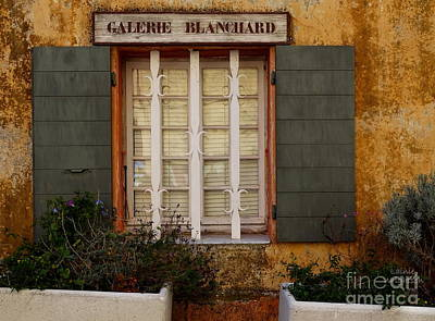 Photograph - Galerie Blanchard by Lainie Wrightson