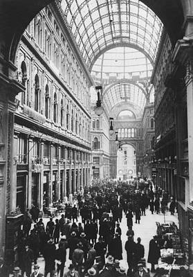 Galleria Umberto Art Print by General Photographic Agency