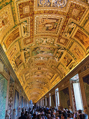 Soap Suds - Gallery of Maps in the Vatican Museums by Claudio Maioli