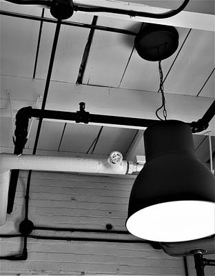 Photograph - Galley Light by Rob Hans