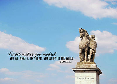 Photograph - Gallic Warrior Quote by JAMART Photography