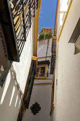 Photograph - Gallivanting Around Seville Is Pure Charm - Religious Icons And Roof Terraces by Georgia Mizuleva