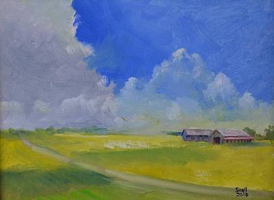 Painting - Gallrein by Roger Snell