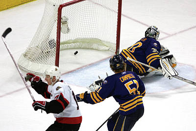 Photograph - Game 5 - Ottawa Senators V Buffalo by Bruce Bennett