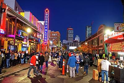 Photograph - Game Night On Lansdowne Street 2018 World Series Red Sox Boston Ma 2 by Toby McGuire