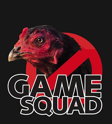 Digital Art - Game Squad by Sigrid Van Dort