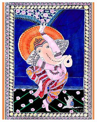 Painting - Ganesh by Priti Lathia