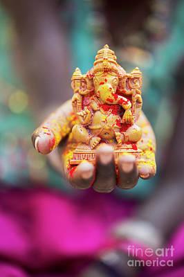 Photograph - Ganesha Devotion by Tim Gainey