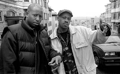 Photograph - Gang Starr by Martyn Goodacre