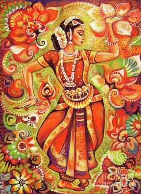 Ganges Flower Art Print