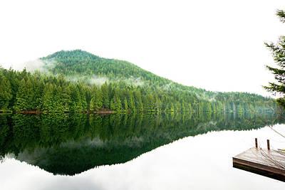 Photograph - Garden Bay Lake by Kaishin Chu