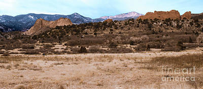 Photograph - Garden Of The Gods Colorado National Park - Rocky Mountains by Patricia Awapara