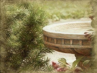Photograph - Garden Refreshment by Leslie Montgomery