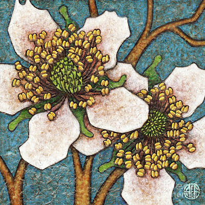 Painting - Garden Room 45 by Amy E Fraser