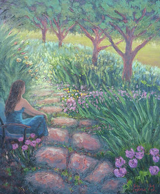 Painting - Garden Therapy by Gina Grundemann