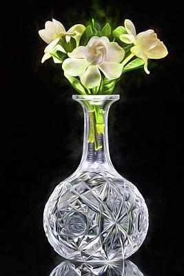 Digital Art - Gardenia Still Life  by JC Findley