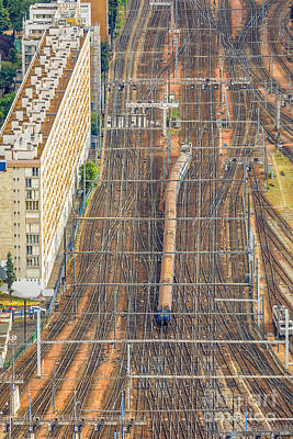 Photograph - Gare Montparnasse Paris by Benny Marty
