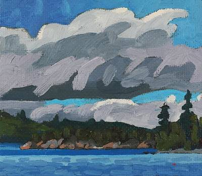 Painting - Gargantua Harbour Island by Phil Chadwick