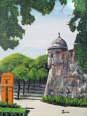 Painting - Garita Del Morro by Luis F Rodriguez