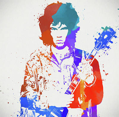 Painting - Gary Moore by Dan Sproul