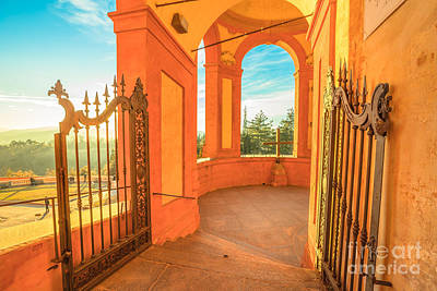 Photograph - Gate To San Luca by Benny Marty