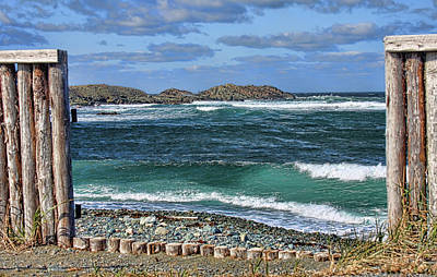 Photograph - Gate To The Sea In Cape Bonavista by Tatiana Travelways