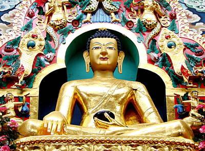 Karnataka Photograph - Gautama Buddha by Mahesh Telkar