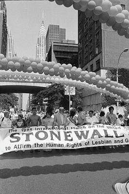 Gay Rights Wall Art - Photograph - Gay Rights March On The United Nations by Fred W. Mcdarrah
