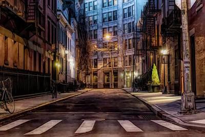 Digital Art - Gay Street Greenwich Village by Alison Frank