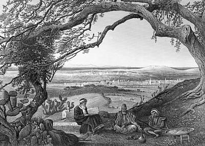 Photograph - Gaza 1881 by Munir Alawi