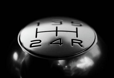 Photograph - Gear Shift by Doc Braham