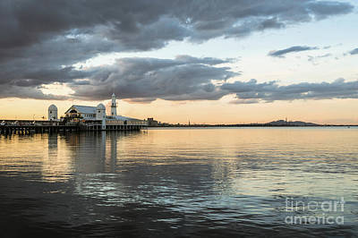 Photograph - Geelong Sunset by Didier Marti