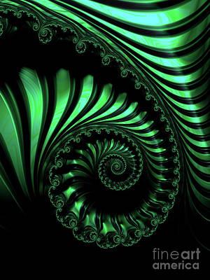 Digital Art - Geigeresque by Jon Munson II