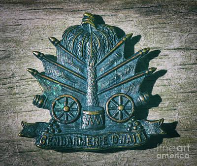 Unicorn Dust - Gendarmerie DHaiti Coat of Arms by Dale Powell