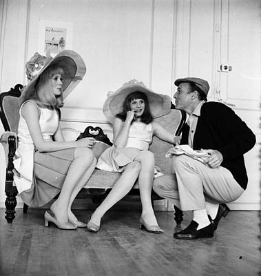 Photograph - Gene And Sisters by Reg Lancaster