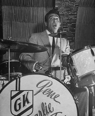 Photograph - Gene Krupa by Margaret Bourke-white